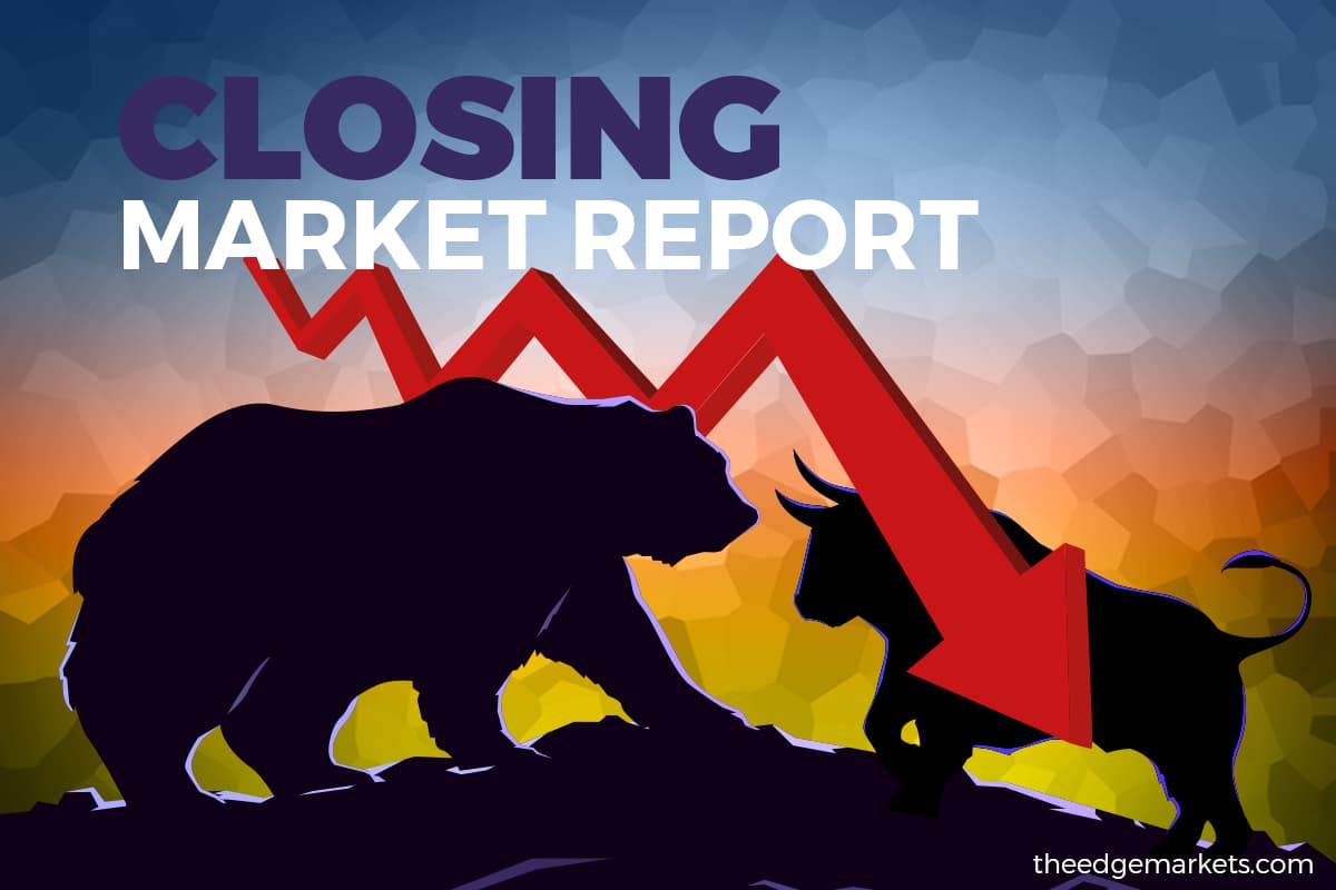 Glove stocks drag KLCI into another negative session, closes 1.23% lower at 1,492.4