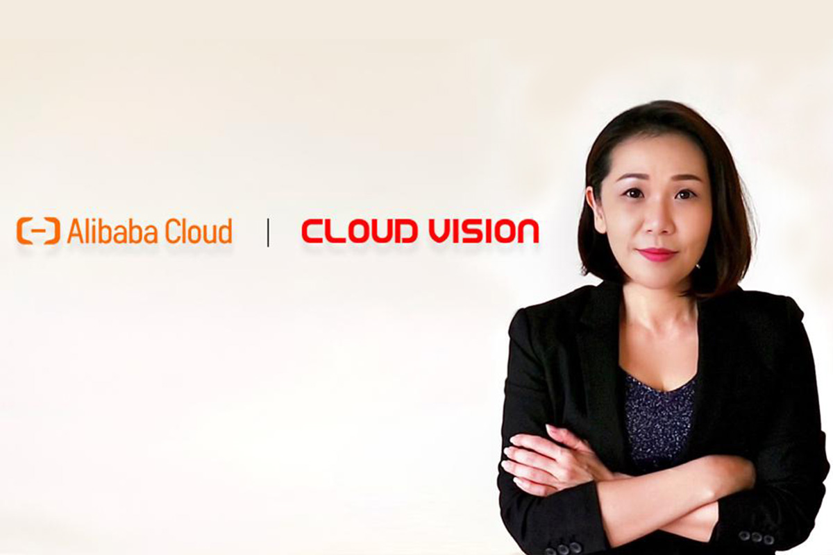 Ms Katherine Beh, Cloud Vision Technology Sdn Bhd, Director for Cloud Division.