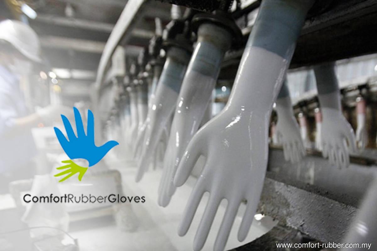 Comfort Gloves 1Q net profit jumps 84% q-o-q to RM219m, declares four sen dividend