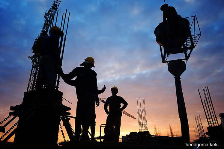 Construction stocks attract interest on anticipation of pump-priming initiatives