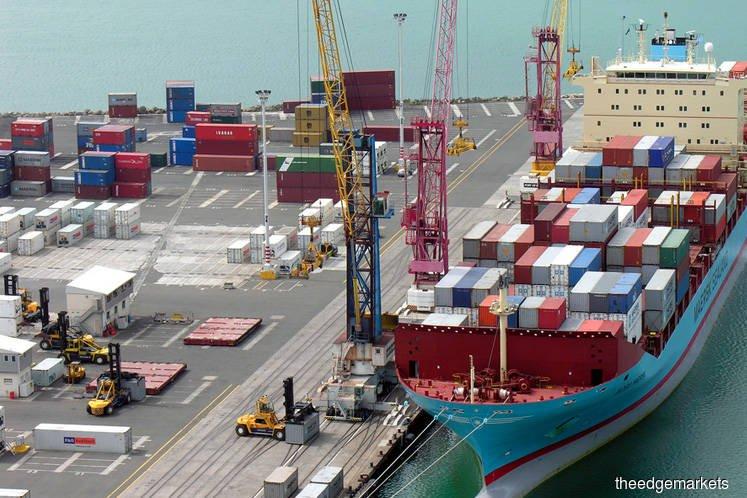 大马1月出口年增3.1%至854亿