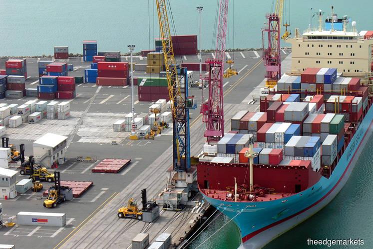 Malaysia Sept exports slip 6.8% to RM77.7b