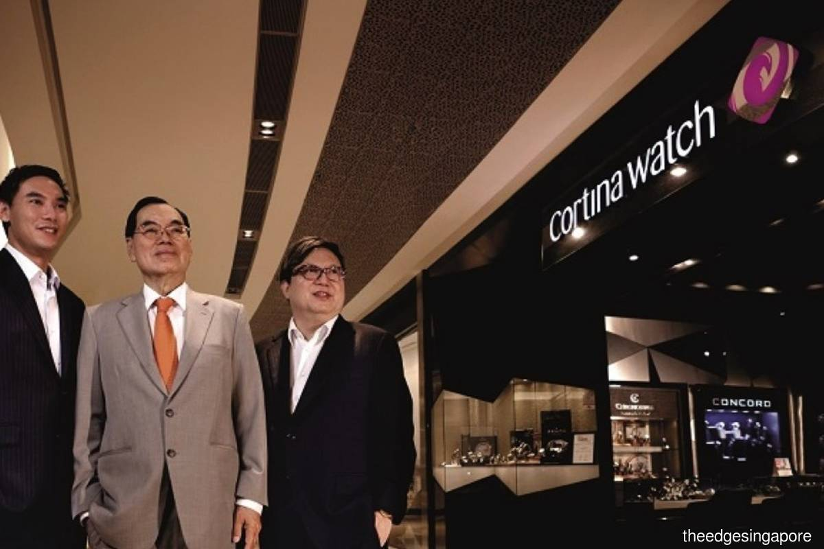 Cortina to buy Sincere Watch for S$84.5 mil
