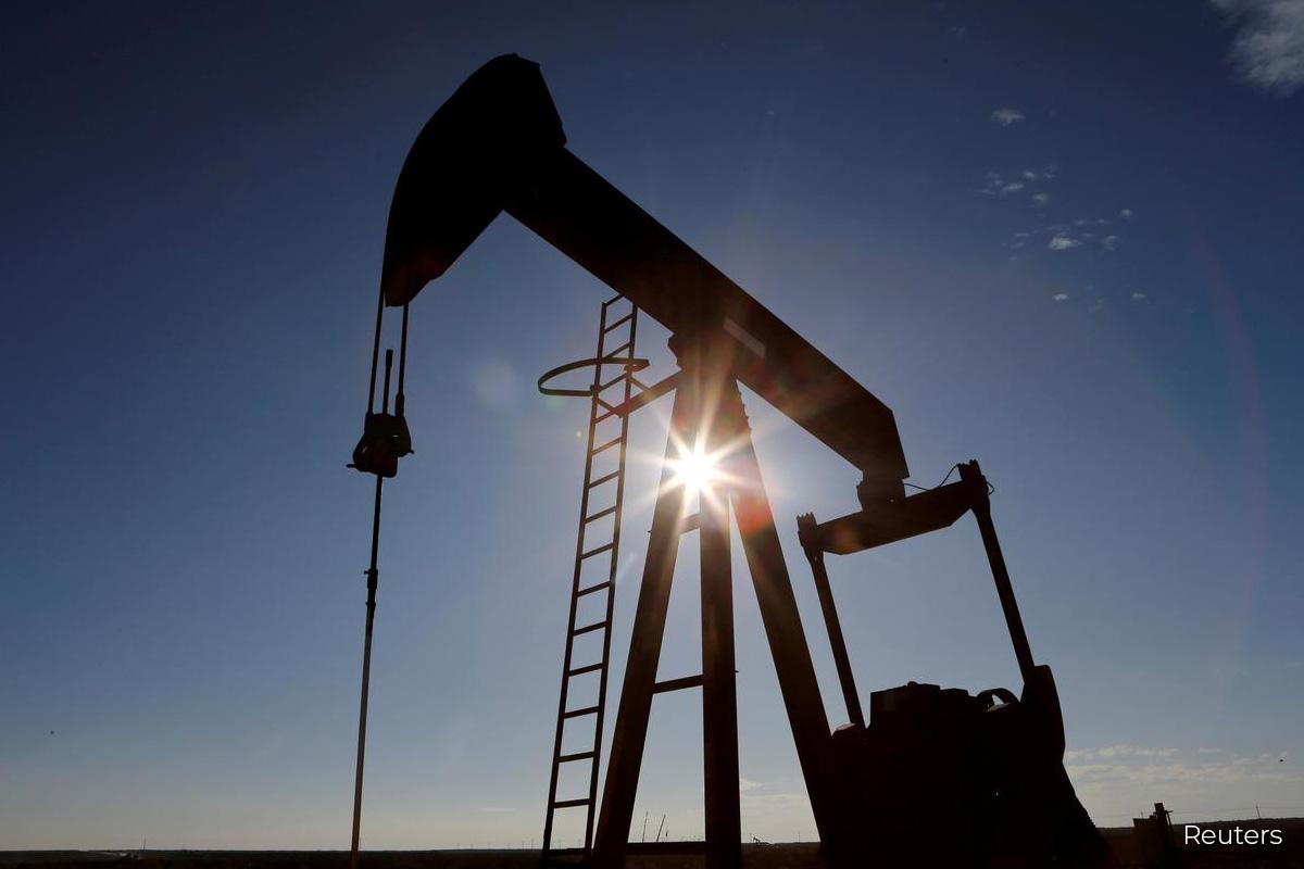Oil steadies as economic data overshadows coronavirus worries