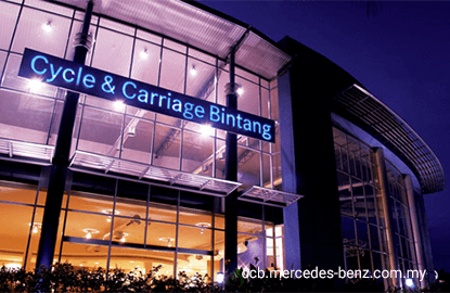 Cycle & Carriage rises 9.8% after strong Mercedes-Benz sales in 1H15