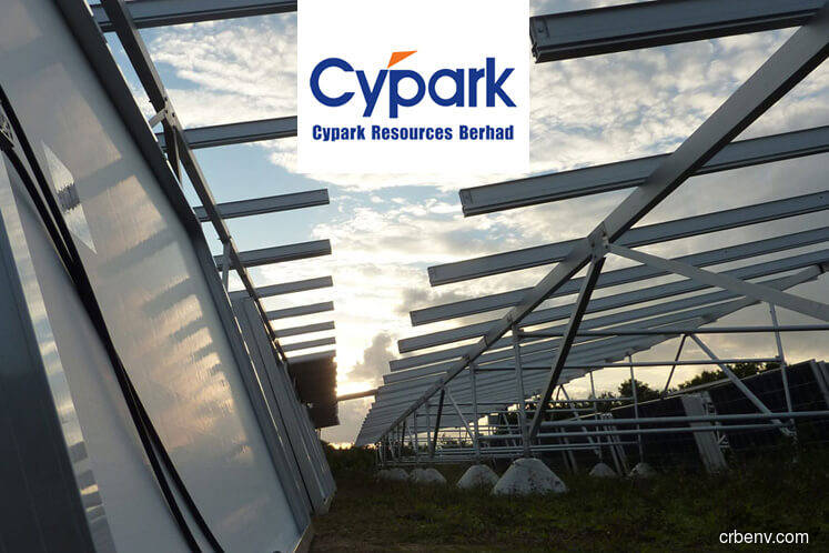 Cypark rises 2.94% on solar power project win in Marang