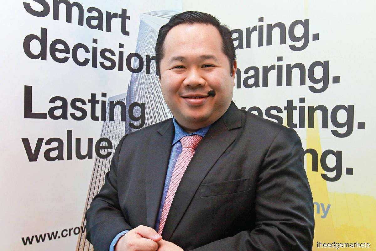 """""""If you have an IP that nobody wants, there is no way to use it for strategic purposes. But if you have something that others want, you can even use it as a negotiation tool when you go into joint ventures with other companies."""" - Lim (Photo by Mohd Shahrin Yahya/The Edge)"""