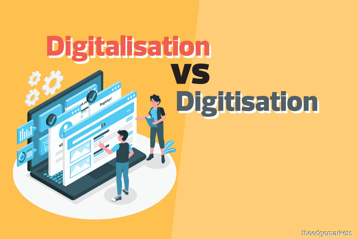 Digitalisation Vs Digitisation