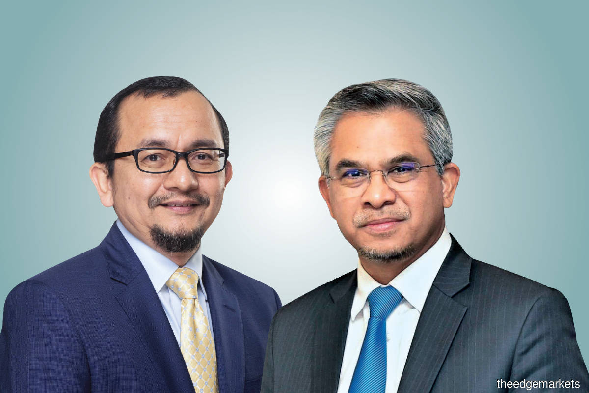 Norhalim (left)  and Mohd Daud (Photo by MTDC)
