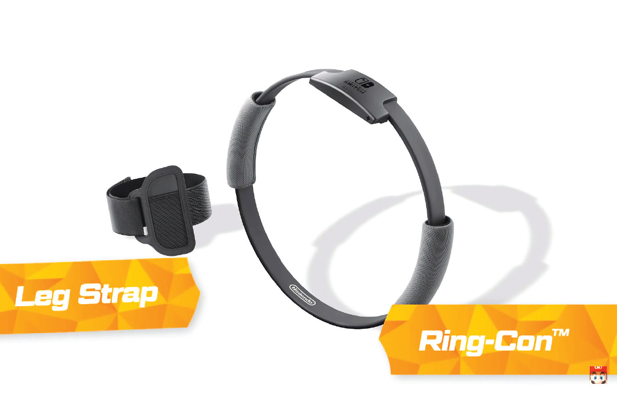 The two accessories measure players'  real-world actions and help turn them into the  in-game movements