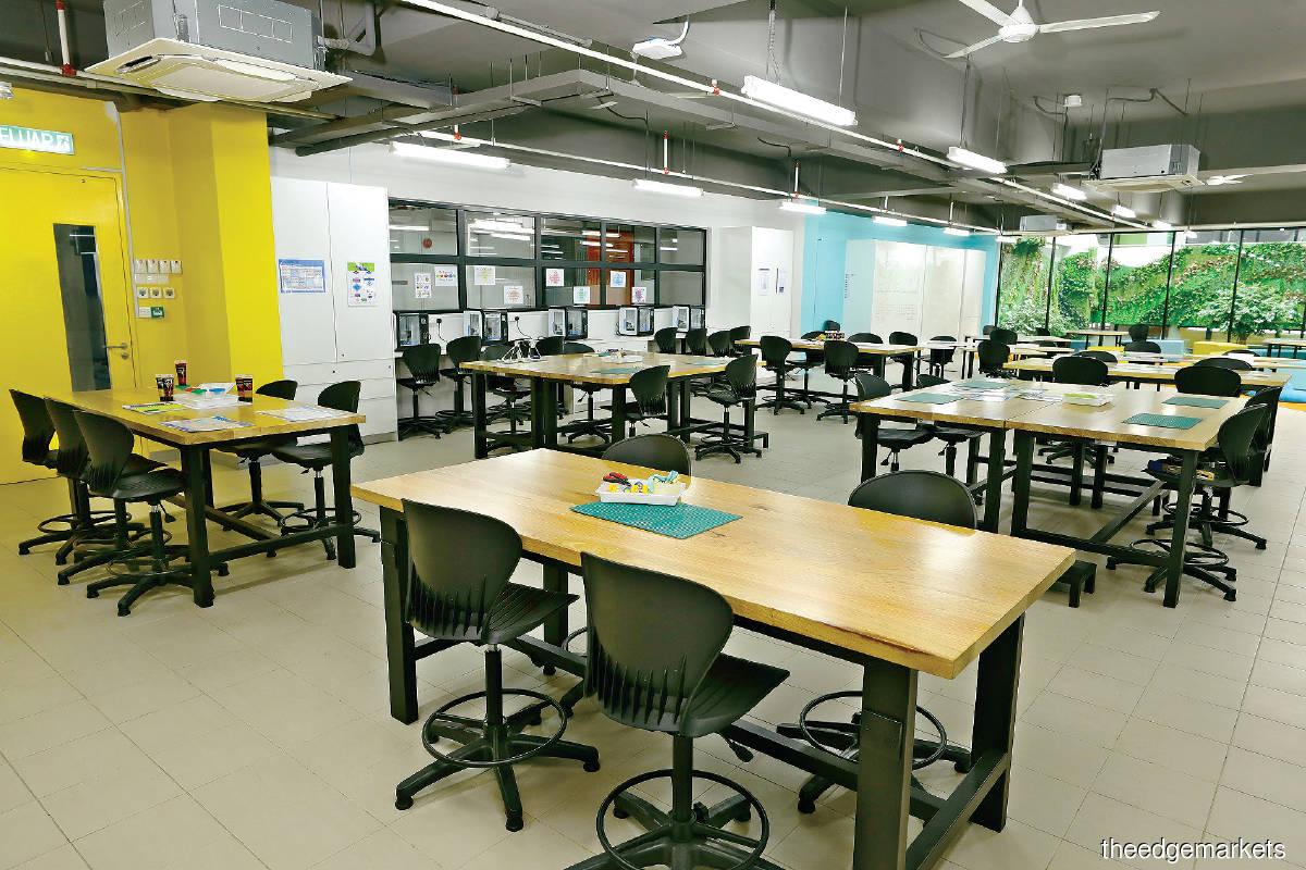 The Sri KDU International School Klang is touted as Asia's first school for digital leadership