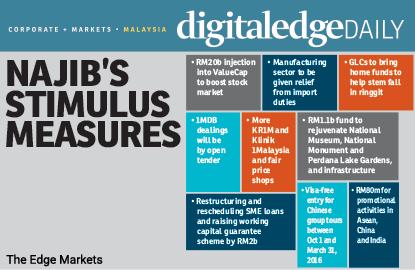 Najib's economic stimulus lifts stocks