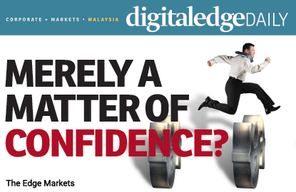 Merely a matter of lacking confidence?