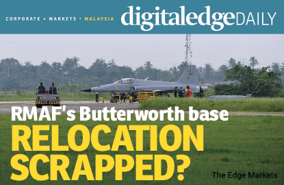 RMAF's Butterworth base relocation scrapped?