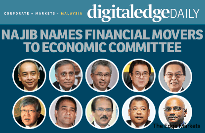 Najib names financial movers to economic committee