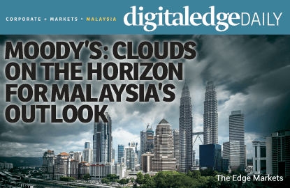 <p>KUALA LUMPUR: Clouds are gathering on Malaysia's positive outlook amid strong external headwinds, such as China's economic slowdown, weak commodity prices and massive capital outflow, said Moody's Sovereign Risk group vice-president and senior analyst Christian de Guzman.</p>  <p>While pointing out that the Malaysian government's fiscal consolidation — the lynchpin of the agency's decision to reaffirm the country's sovereign rating — remains intact, de Guzman said the underlying factors had changed