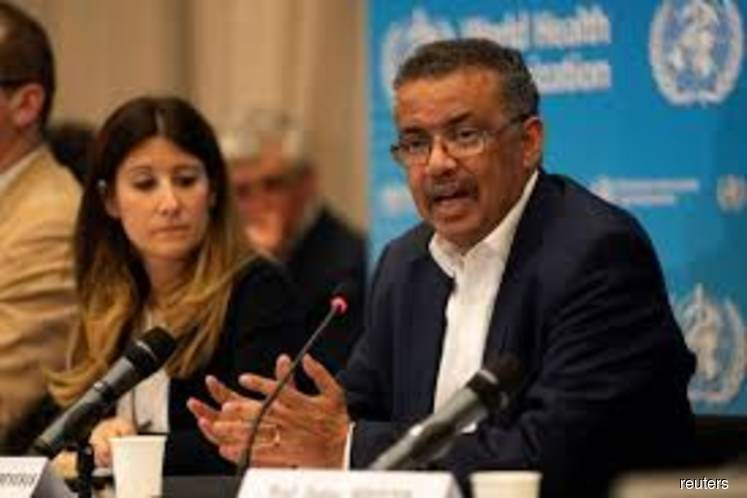 FILE PHOTO: Director-General of World Health Organization (WHO) Tedros Adhanom Ghebreyesus takes part in a news conference after a meeting of the International Health Regulations (IHR) Emergency Committee for Pneumonia due to the Novel Coronavirus 2019-nCoV in Geneva, Switzerland on Jan 22, 2020. (Photo credit: Christopher Black/WHO/Handout via REUTERS)
