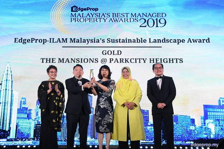 Perdana ParkCity takes home two Awards for EdgeProp Malaysia's Best Managed Property Awards 2019