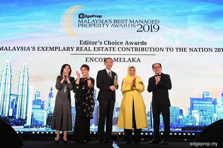 Encore Melaka recognised for its contribution to the nation