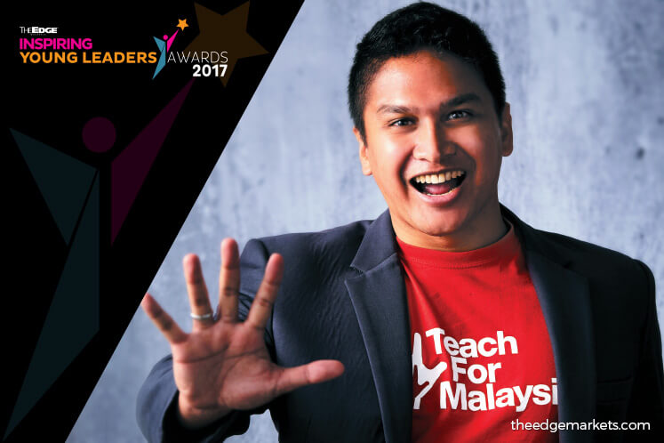 The Edge Inspiring Young Leaders Awards 2017: DZAMEER DZULKIFLI – Co-founder + managing director, Teach For Malaysia