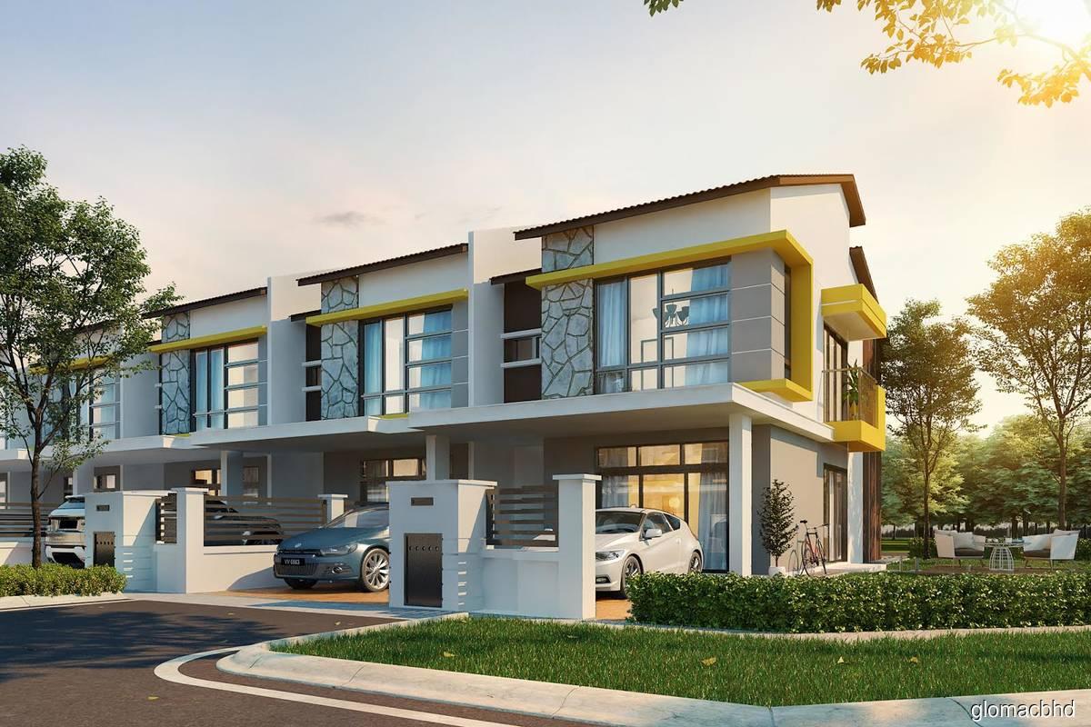 Glomac Bhd plans to launch two-storey terraced homes Dahlia Sari at Saujana Perdana on Feb 10.