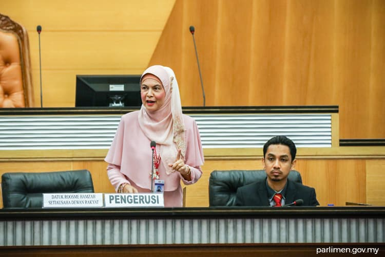 Dewan Rakyat thanks secretary Rosmee for service to August house