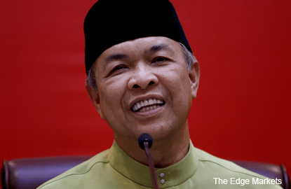 Learn from my experience, stay loyal to Umno, Zahid tells Mukhriz