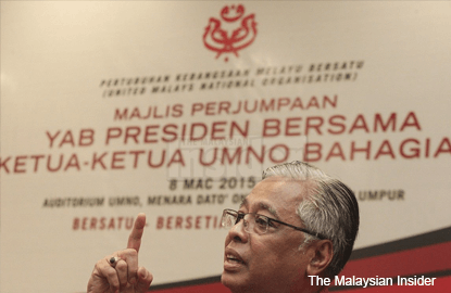 Split within Umno, not loyalty to president will cause it to fall, says Ismail Sabri