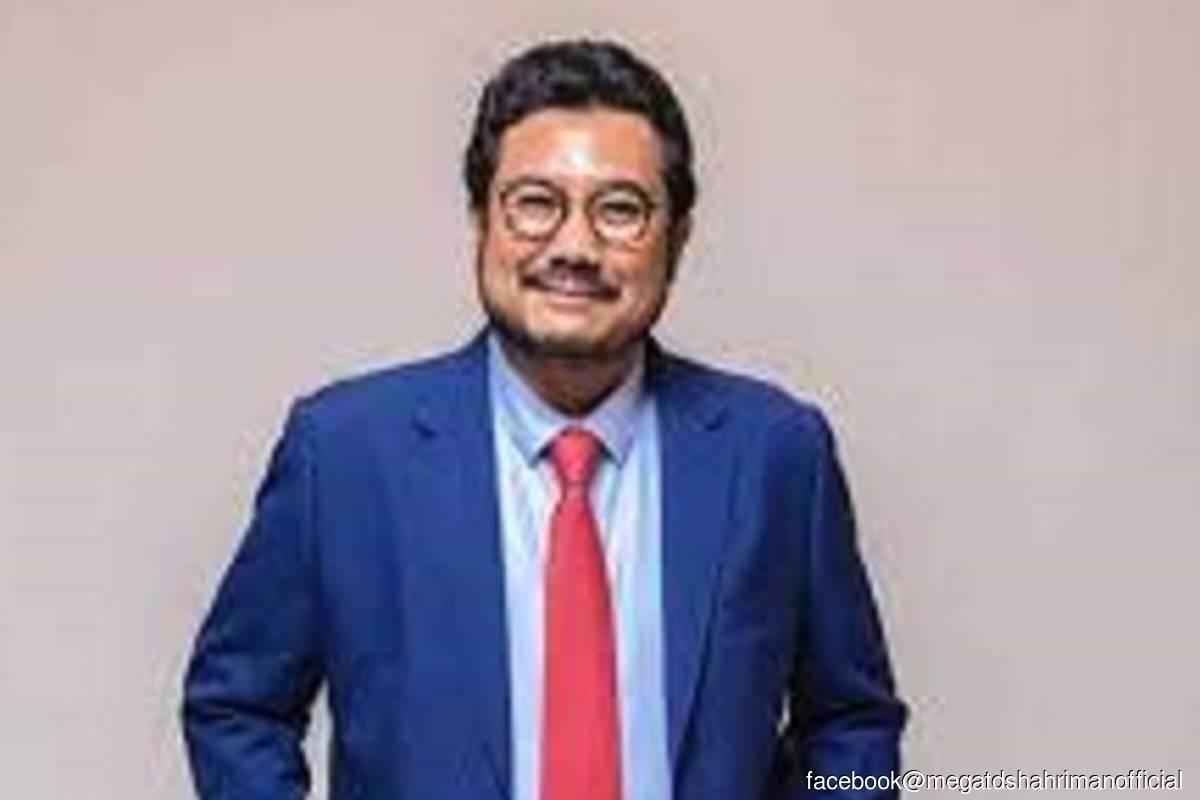 Datuk Seri Megat D Shahriman Zaharudin