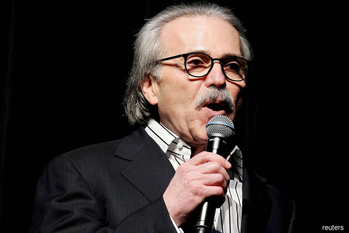 National Enquirer publisher fined over payment for Trump story