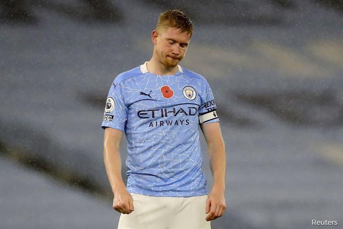 De Bruyne misses penalty as Man City held 1-1 by Liverpool