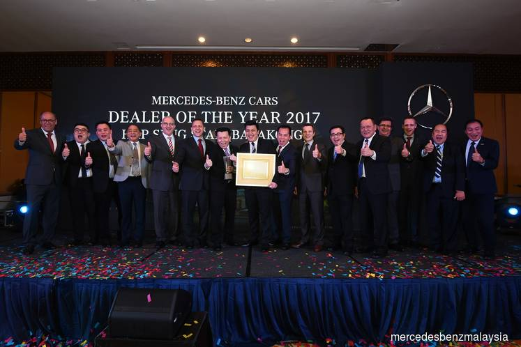 Hap Seng Star wins Mercedes-Benz Malaysia inaugural Dealer of the Year award