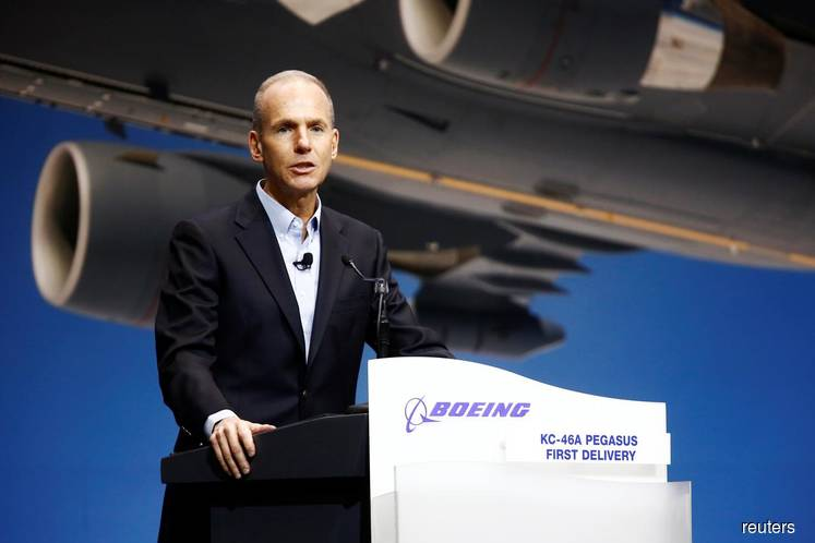 Boeing CEO releases a statement on 'safety'