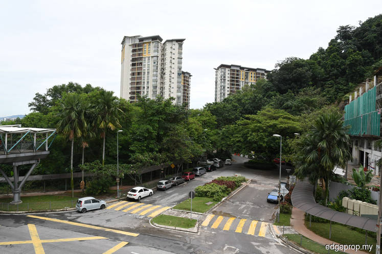 Desa Putra Condominium residents protest high-density development next door