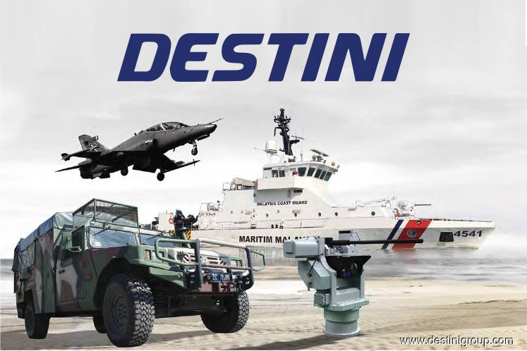 Destini up 7.32% on getting one-year extension for Mindef contract