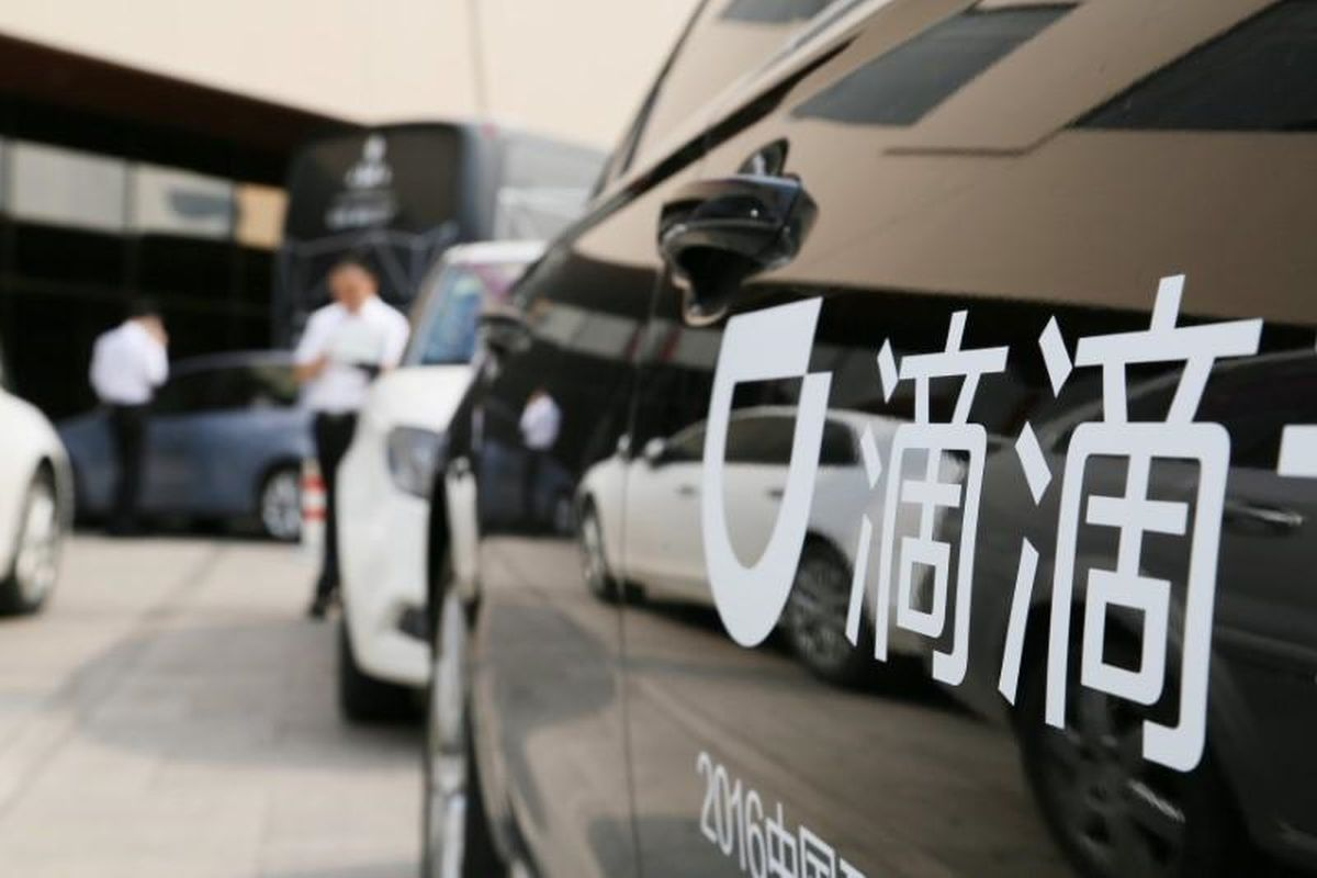 Didi's shares surge on report it's considering going private