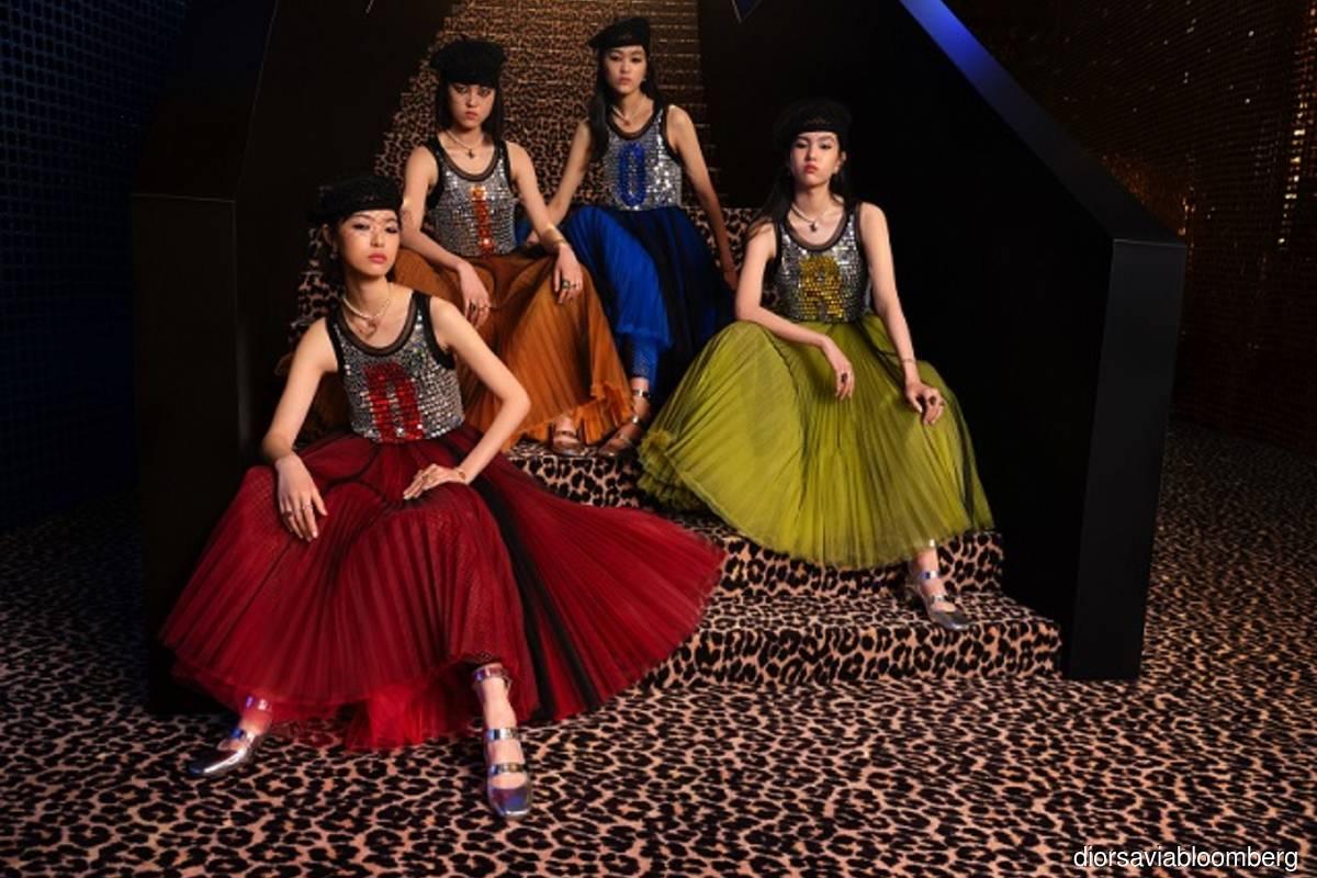 Dior's ready-to-wear fashion collection by Creative Director Maria Grazia Chiuri (Photo credit: Dior SA via Bloomberg)
