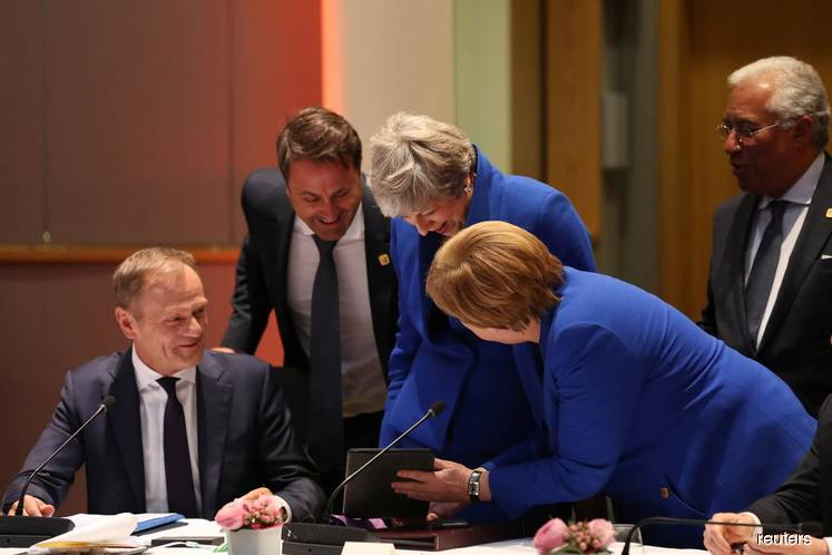 EU27/UK agree to Brexit extension until Oct 31 - EU's Tusk
