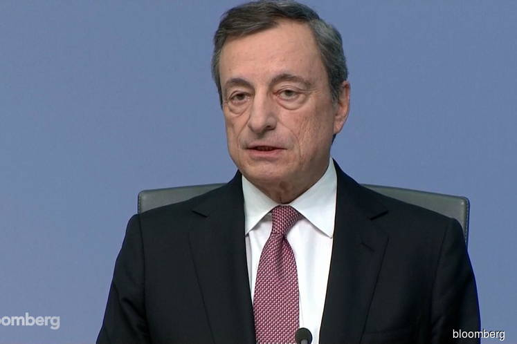 Draghi gives banks pain relief as ECB negative rates deepen