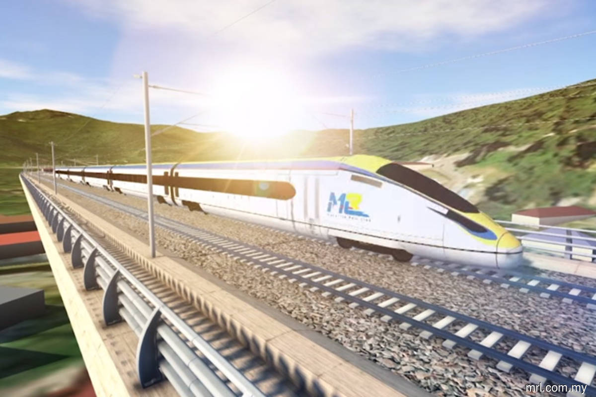 ECRL is nearly 21% complete, says Mohd Zuki