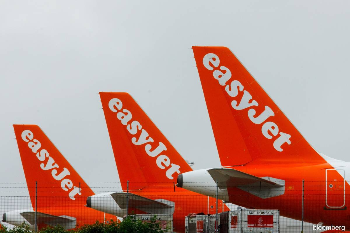 EasyJet says vaccine news boosts bookings after £1.27 billion loss
