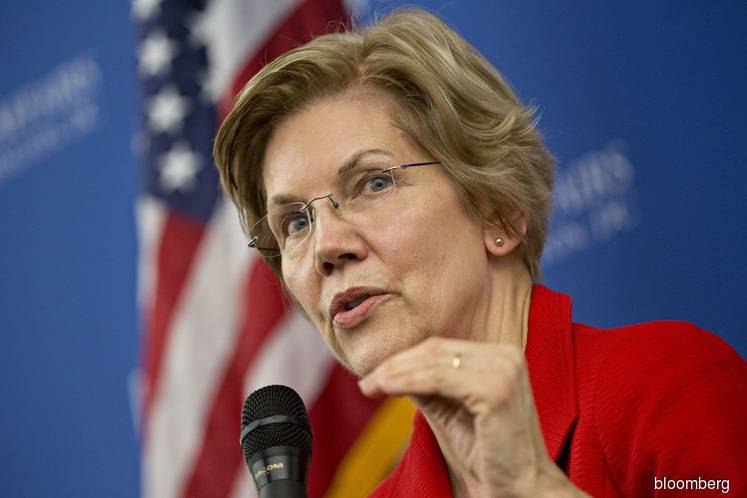 Trump, Warren, 2020 race, factories, politics