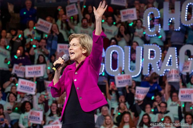 Elizabeth Warren's presidential campaign raised $11 mln in January