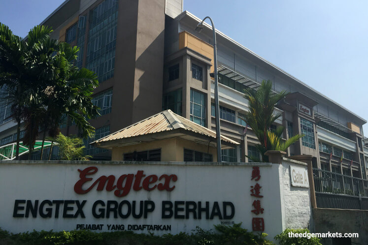 Engtex 1Q earnings slump 45% on absence of disposal gain
