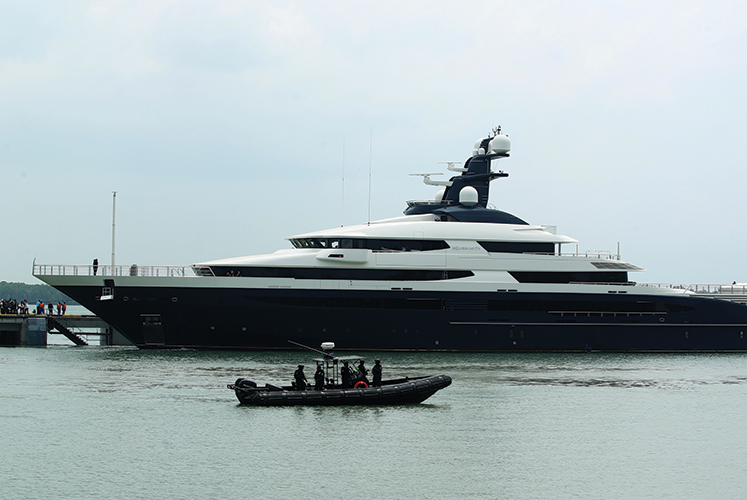 Equanimity owner claims no legal notice received over sale of the superyacht