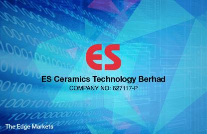 Stock With Momentum: ES Ceramics