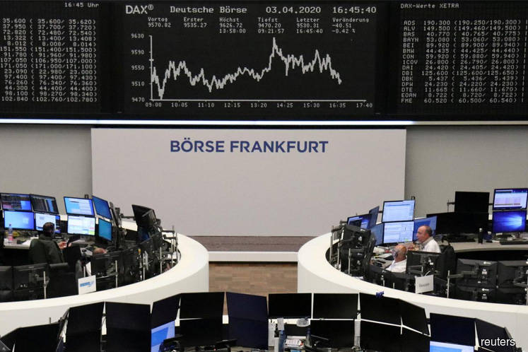 European stock index futures jump as coronavirus death toll slows