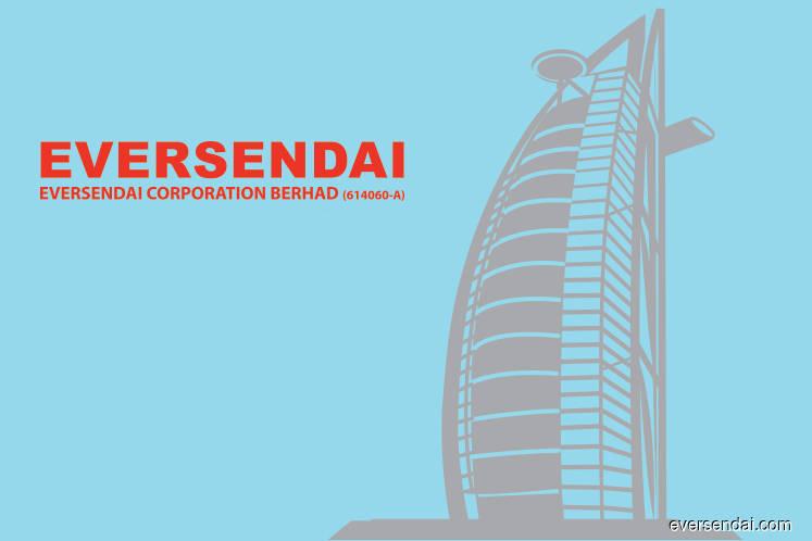 Eversendai bags RM288m worth of jobs