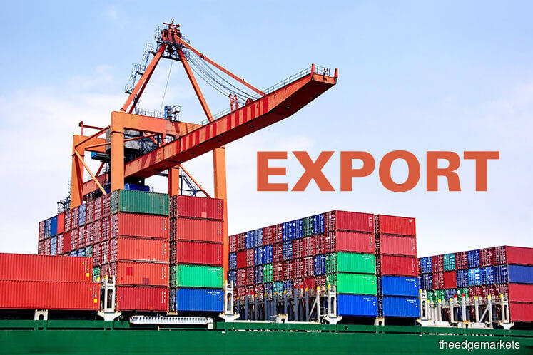 Exports back in positive territory, rising 1.7%