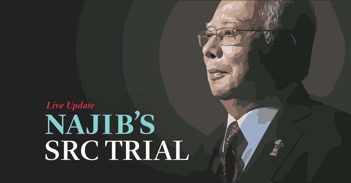 Najib's day in court for SRC trial